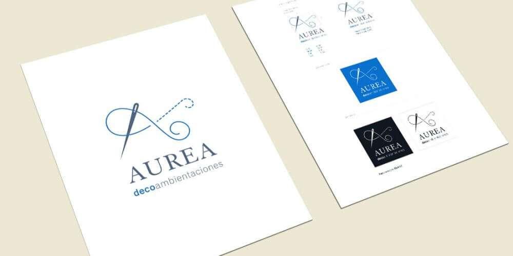 Aurea. Logotipo