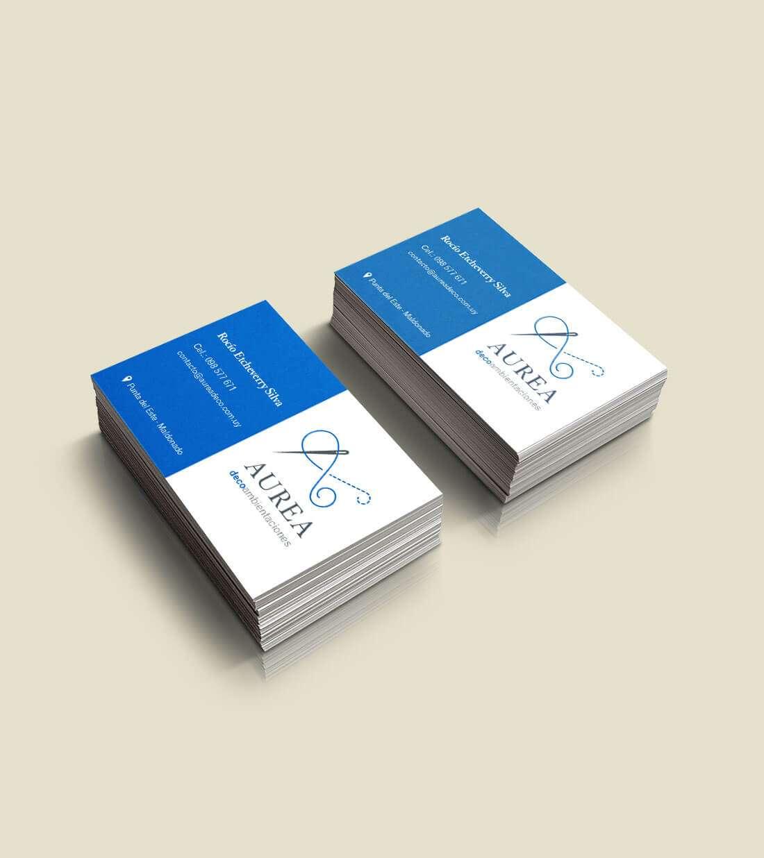 Tarjetas y flyer
