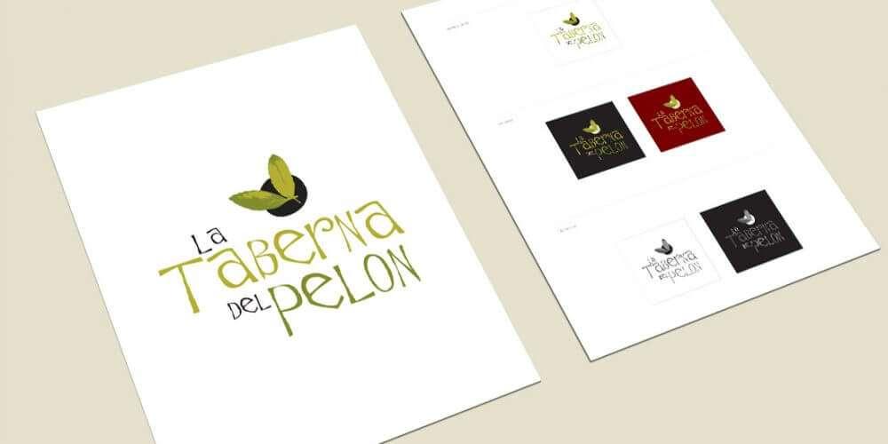 La Taberna del Pelón. Logotipo