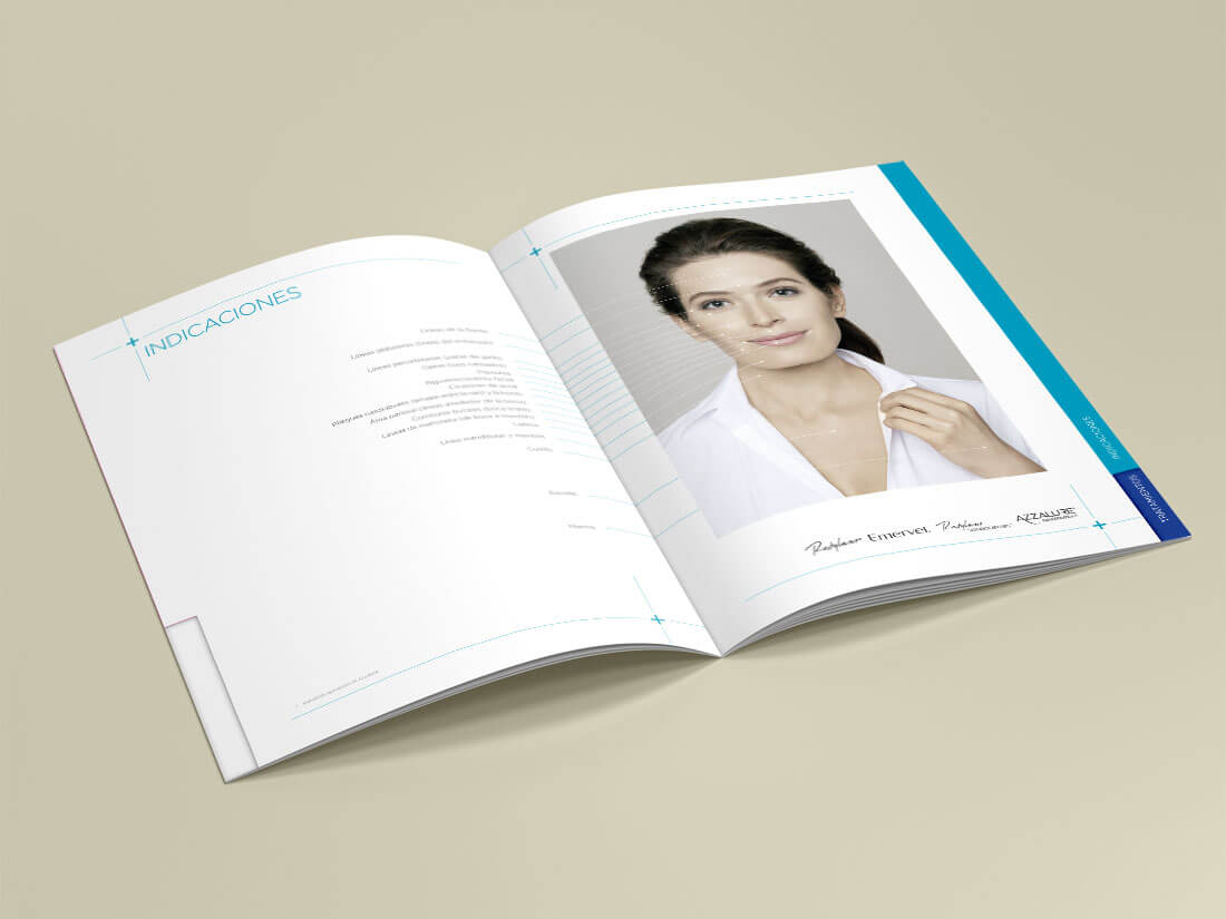 Galderma, Guía de Tratamientos. Páginas