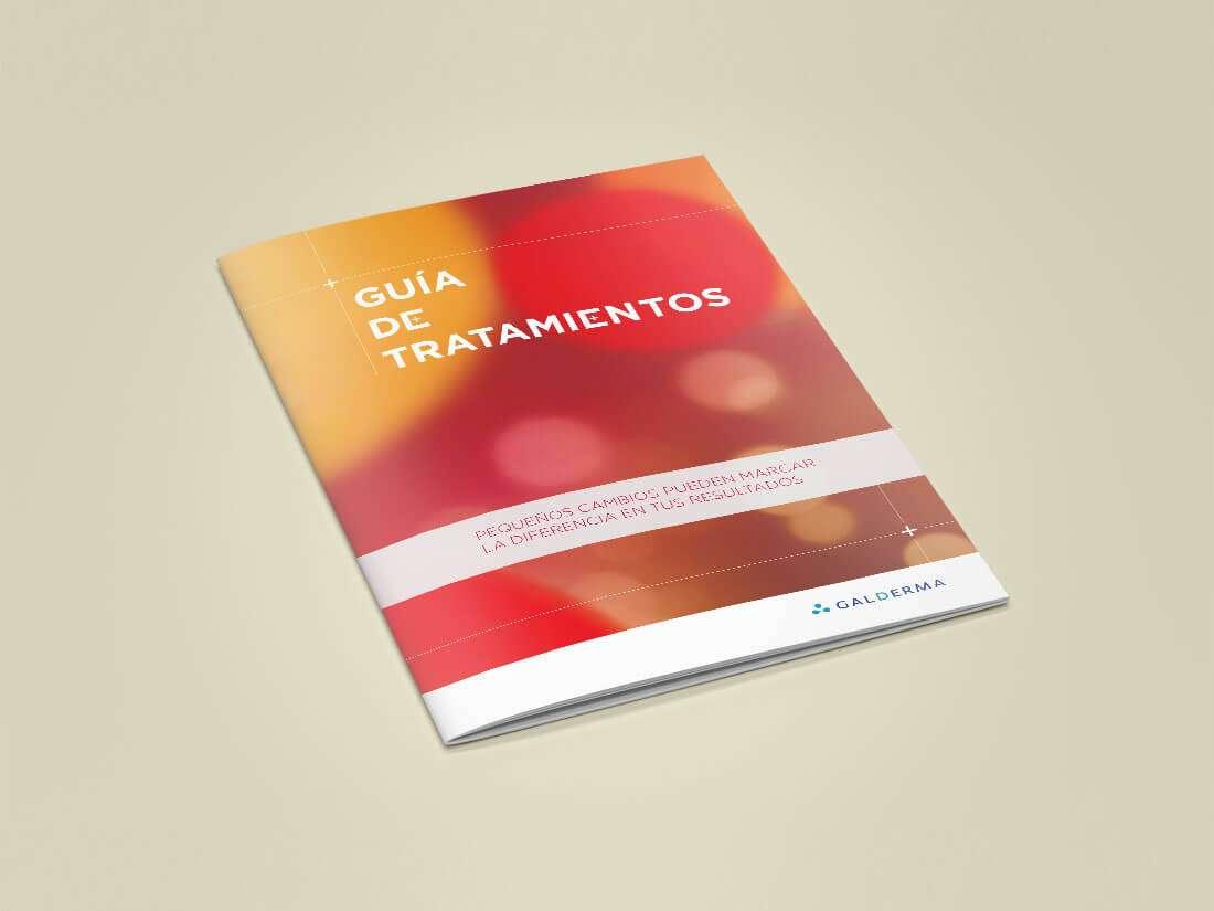 Galderma, Guía de Tratamientos. Portada